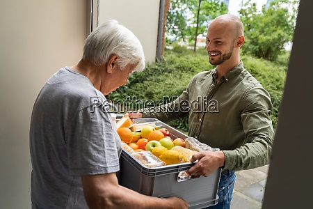 grocery food shopping help for elder