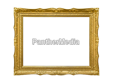 wooden golden colored picture frame on