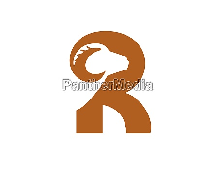 mountain goat and r logotype