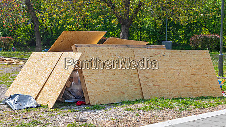 particle board material