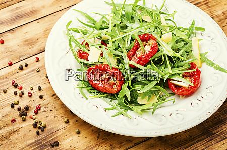 homemade vegetable salad