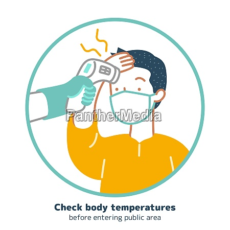 check body temperature during coronavirus outbreak