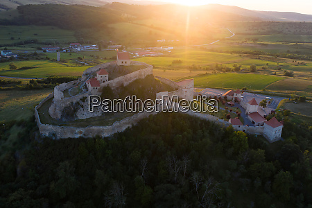 famous rupea fortress spectacular fortification in