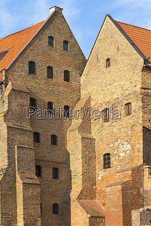 14th century grudziadz granaries fortification complex
