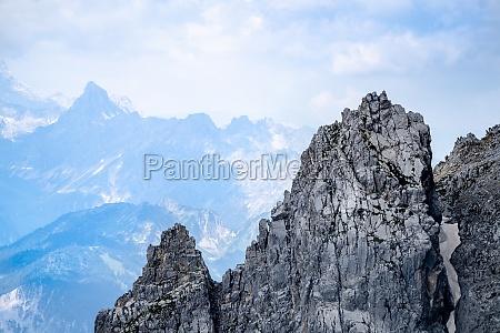 rocky mountain alpine landscape