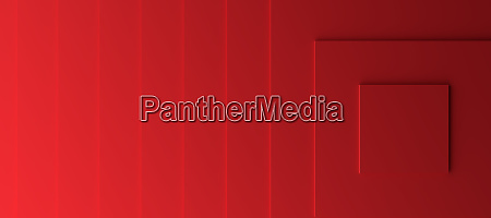 red modern background with three dimensional