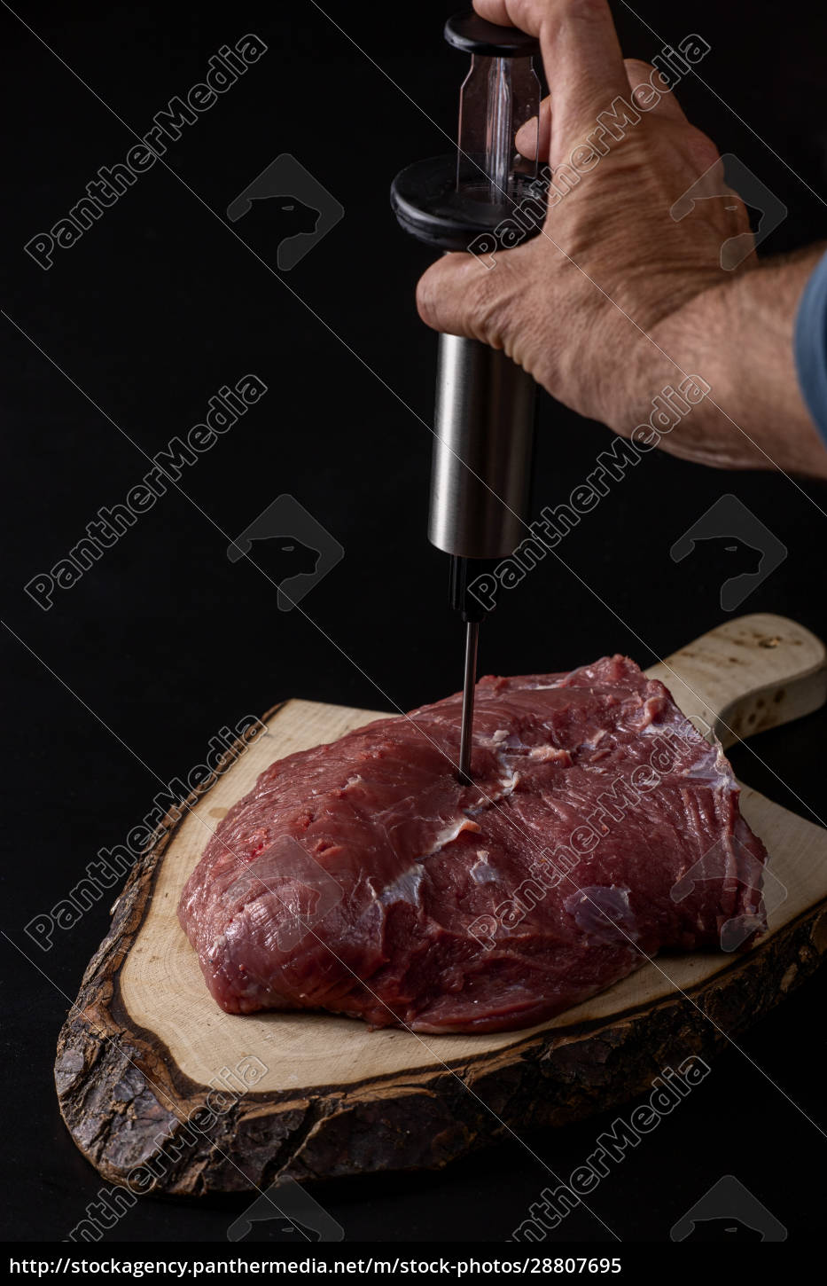 raw, meat - 28807695