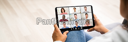 video conference work webinar online