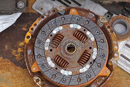 clutch rusty