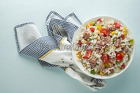 rice salad tuna