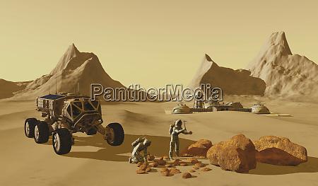 mars planet explorers