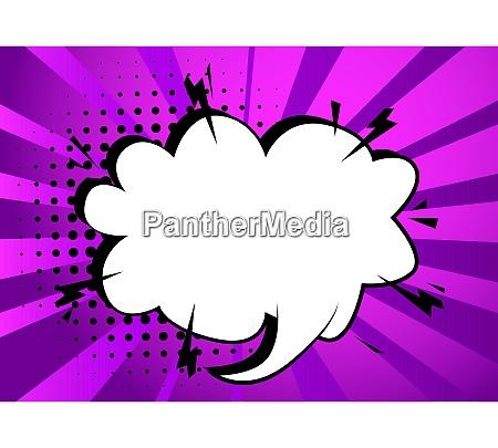 cartoon blank speech bubble talk icon