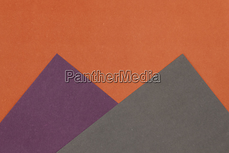grey purple and orange coloured paper