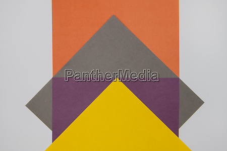grey purple orange and yellow coloured