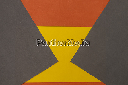 orange grey and yellow coloured paper