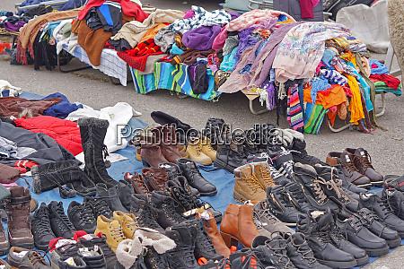 shoes flea market