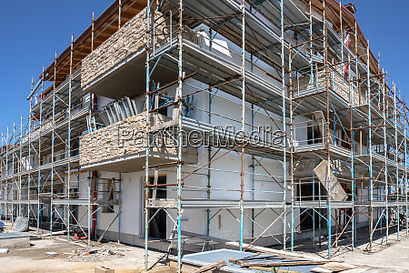 new house under construct