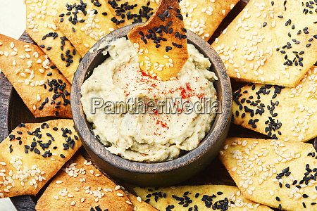 babaganush middle eastern cuisine