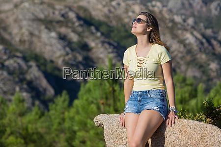 girl enjoying