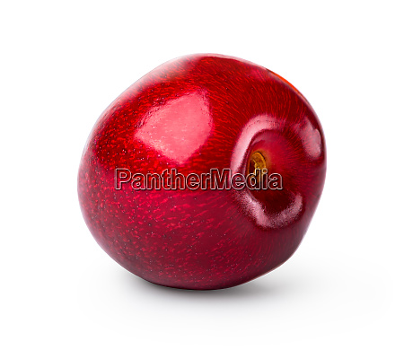 one red cherry