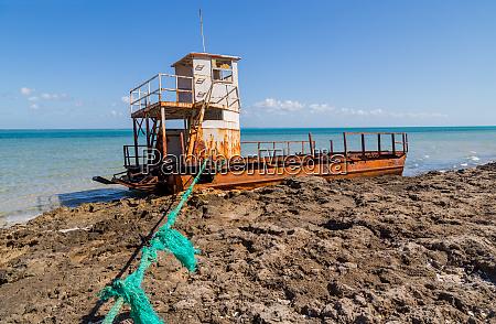 boats at magaruque island