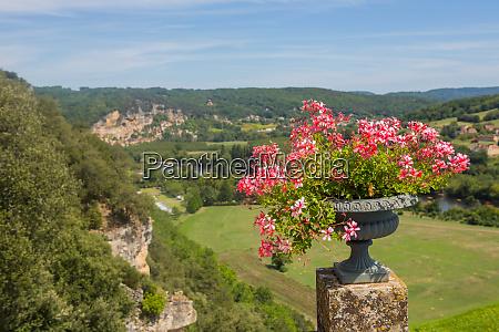 flowers of marqueyssac gardens