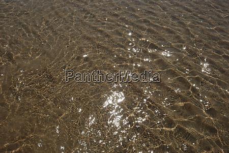 sand with mark