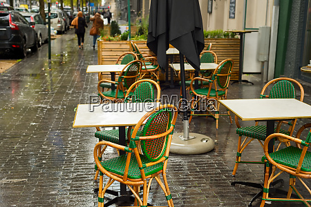 street restaurant nobody brussels belgium