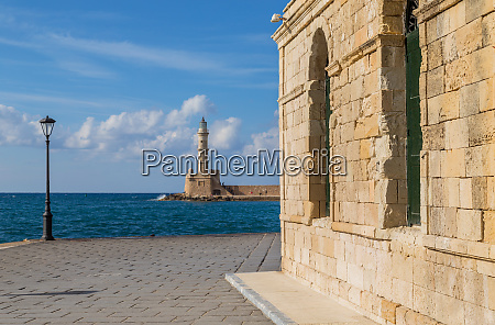 old venetian harbour of chania