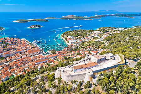 amazing town of hvar and fortica