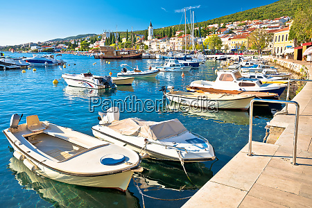 tourist town of selce waterfront and