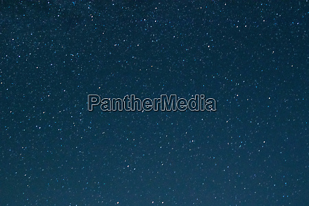 night blue sky with stars the
