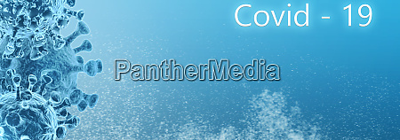 website banner microbes flu covid 19
