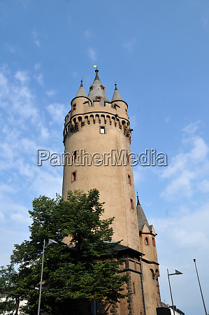 eschenheim tower in frankfurt