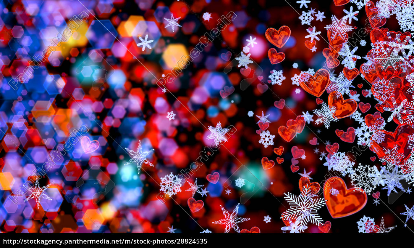 hearts, and, snowflakes, as, a, symbol - 28824535