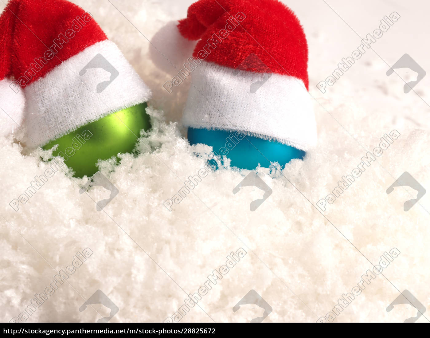 old, christmas, baubles, with, hat, of - 28825672