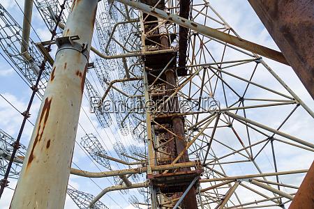 former military duga radar