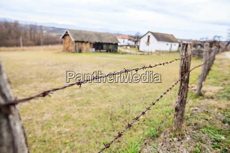 rural village landscape