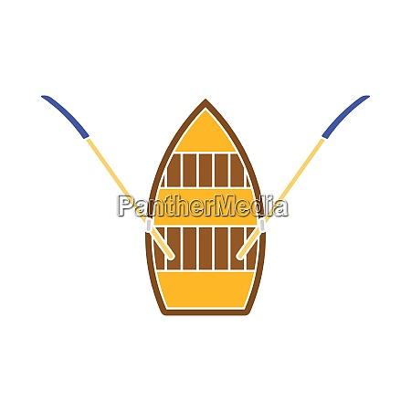 paddle boat icon