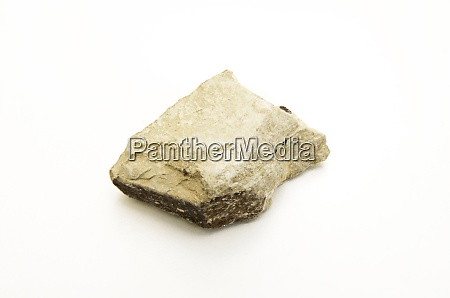 studio photo of bauxite