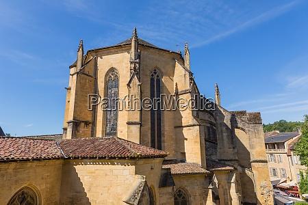 sarlat cathedral france