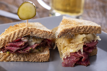 reuben, sandwich - 28829037