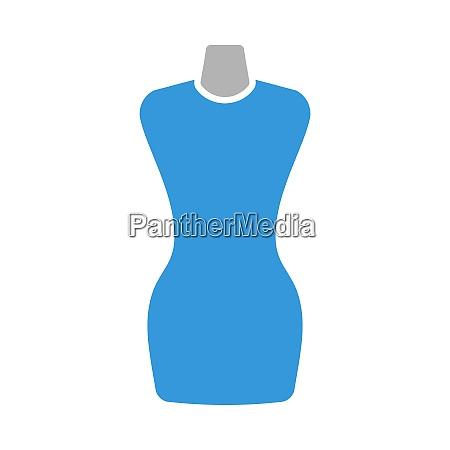 tailor, mannequin, icon - 28829689