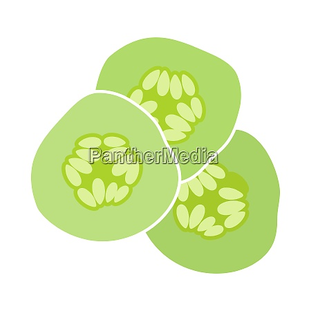 cucumber slices for spa icon