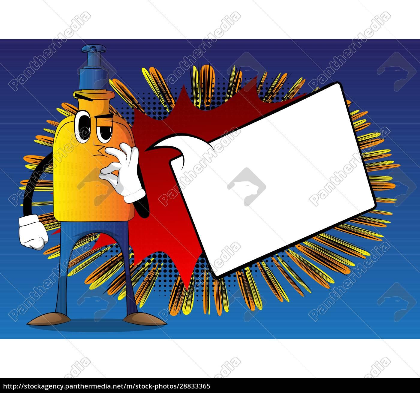 hand, sanitizer, gel, showing, ok, sign. - 28833365