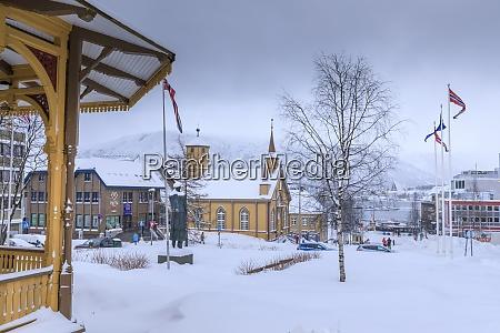 tromso after heavy snow music pavilion