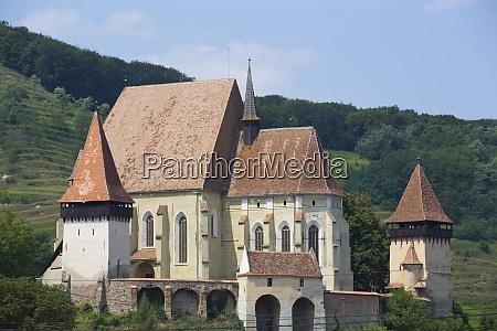 biertan fortified church 15th century unesco