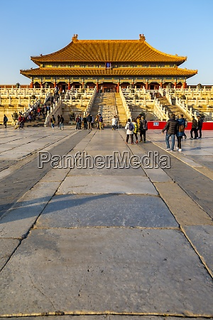 view inside the forbidden city at