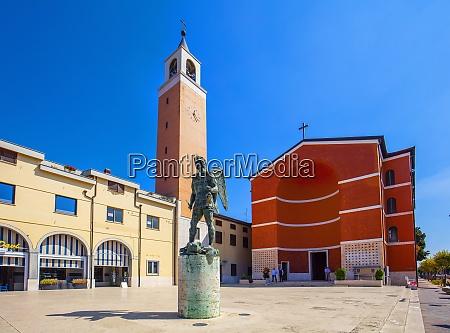 san michele arcangelo church aprilia latina