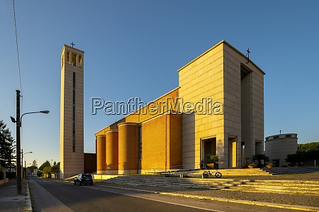 the santissima annunziata church sabaudia latina